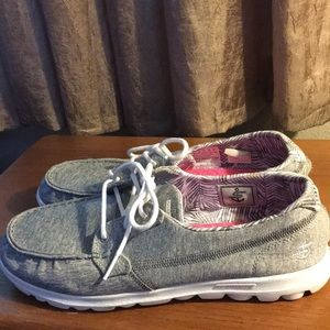 Skechers On-the-GO Shoes Grey Women's Size 11